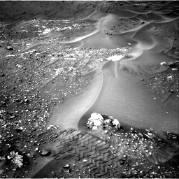 Nasa's Mars rover Curiosity acquired this image using its Right Navigation Camera on Sol 990, at drive 776, site number 48