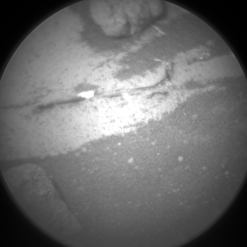 Nasa's Mars rover Curiosity acquired this image using its Chemistry & Camera (ChemCam) on Sol 991, at drive 876, site number 48