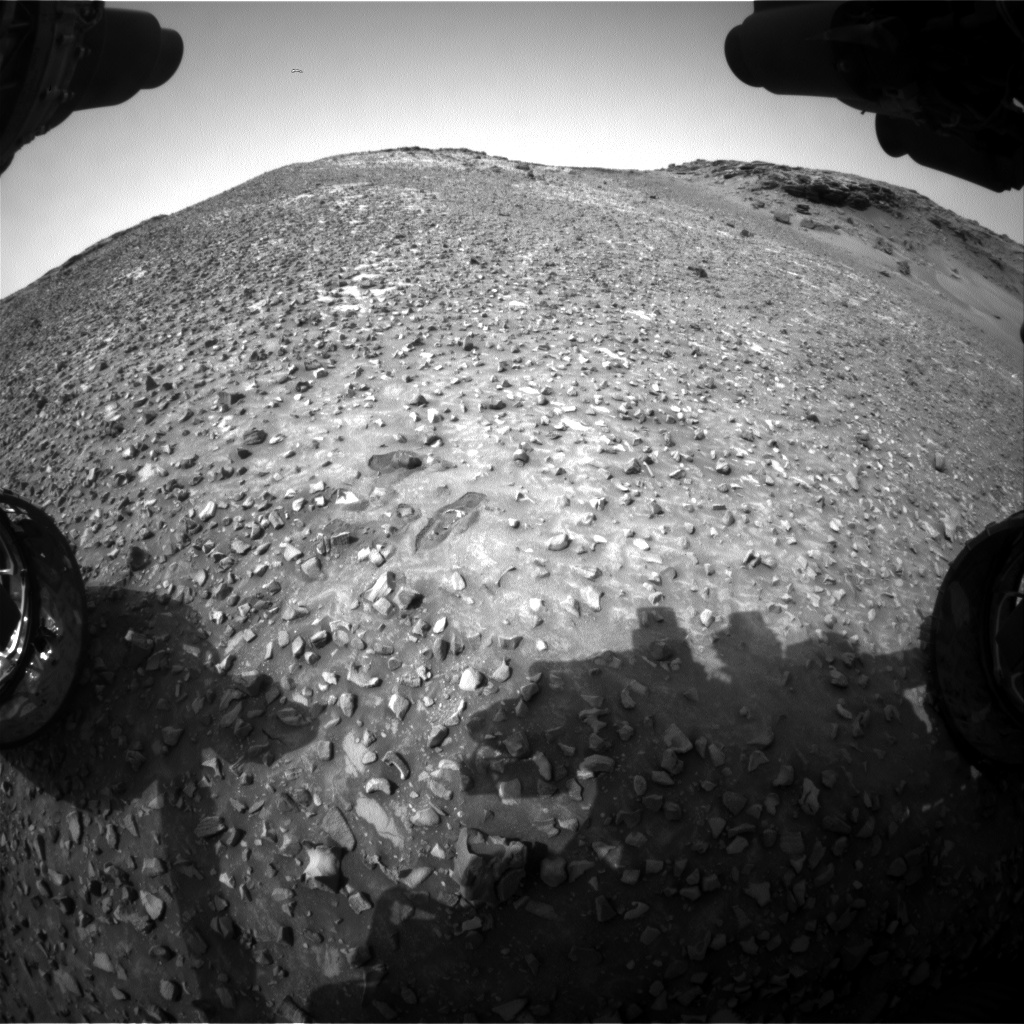 Nasa's Mars rover Curiosity acquired this image using its Front Hazard Avoidance Camera (Front Hazcam) on Sol 991, at drive 876, site number 48
