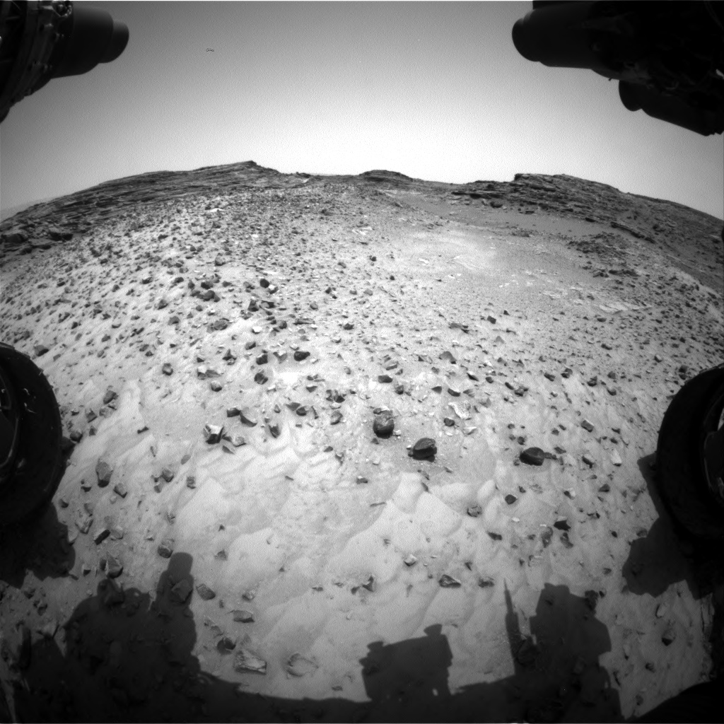 Nasa's Mars rover Curiosity acquired this image using its Front Hazard Avoidance Camera (Front Hazcam) on Sol 991, at drive 1146, site number 48