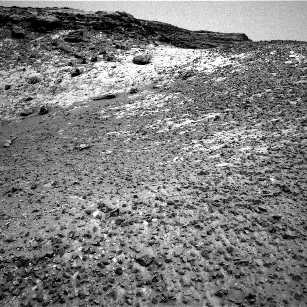 Nasa's Mars rover Curiosity acquired this image using its Left Navigation Camera on Sol 991, at drive 1032, site number 48