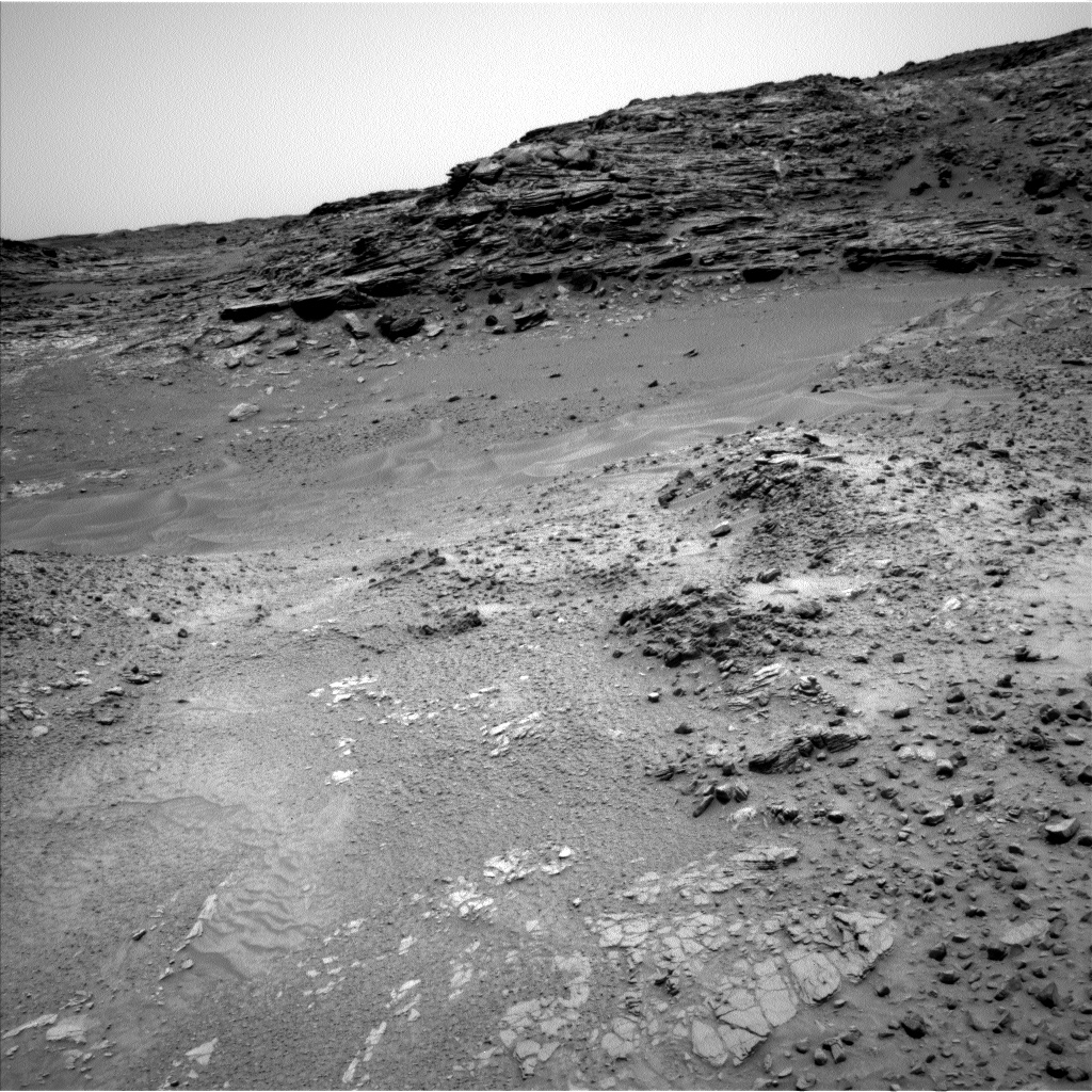Nasa's Mars rover Curiosity acquired this image using its Left Navigation Camera on Sol 991, at drive 1146, site number 48