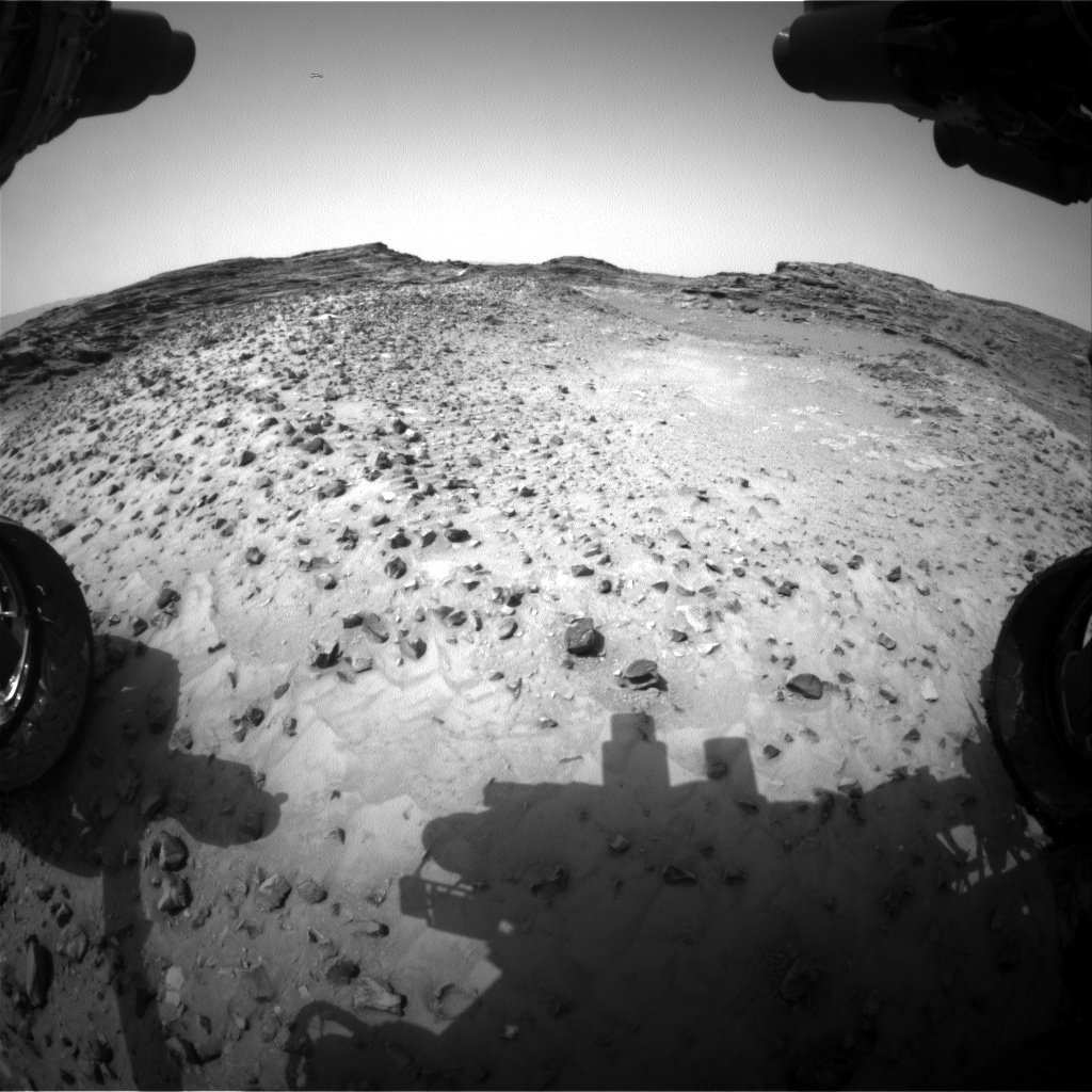 Nasa's Mars rover Curiosity acquired this image using its Front Hazard Avoidance Camera (Front Hazcam) on Sol 992, at drive 1146, site number 48