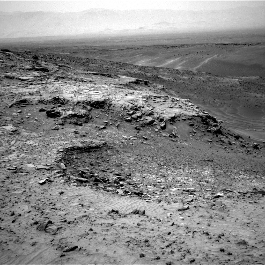 Nasa's Mars rover Curiosity acquired this image using its Right Navigation Camera on Sol 992, at drive 1194, site number 48