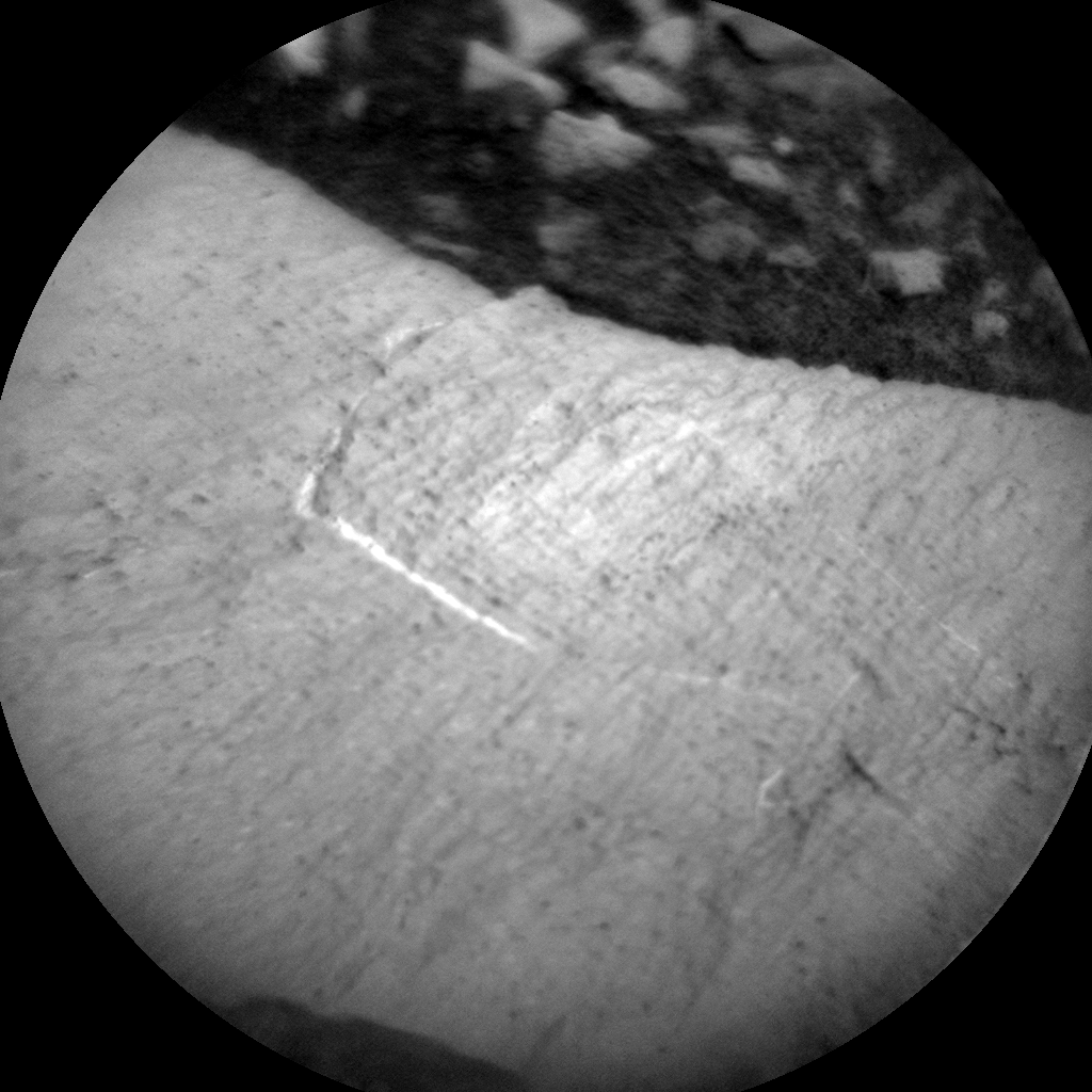 Nasa's Mars rover Curiosity acquired this image using its Chemistry & Camera (ChemCam) on Sol 992, at drive 1146, site number 48