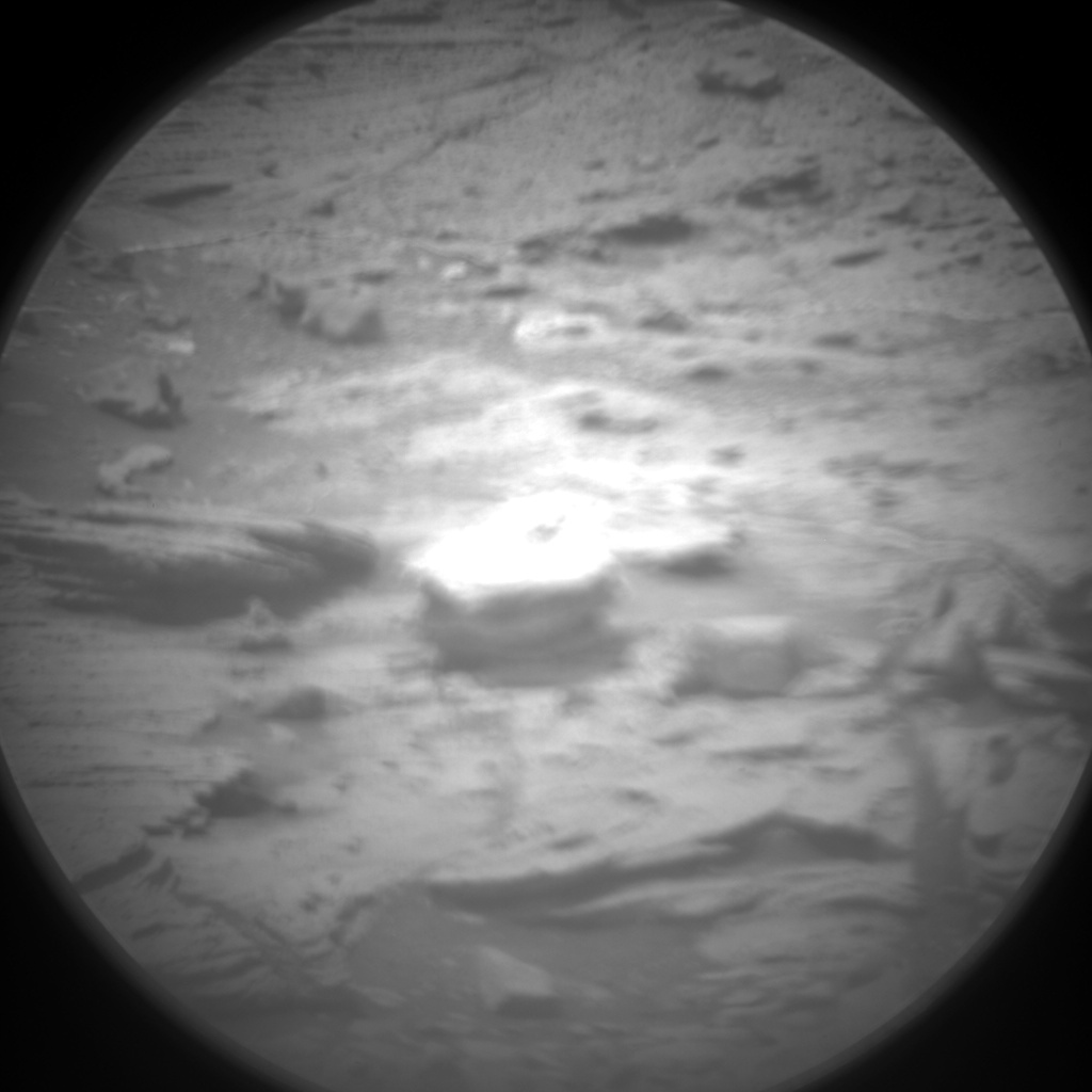 Nasa's Mars rover Curiosity acquired this image using its Chemistry & Camera (ChemCam) on Sol 994, at drive 1194, site number 48