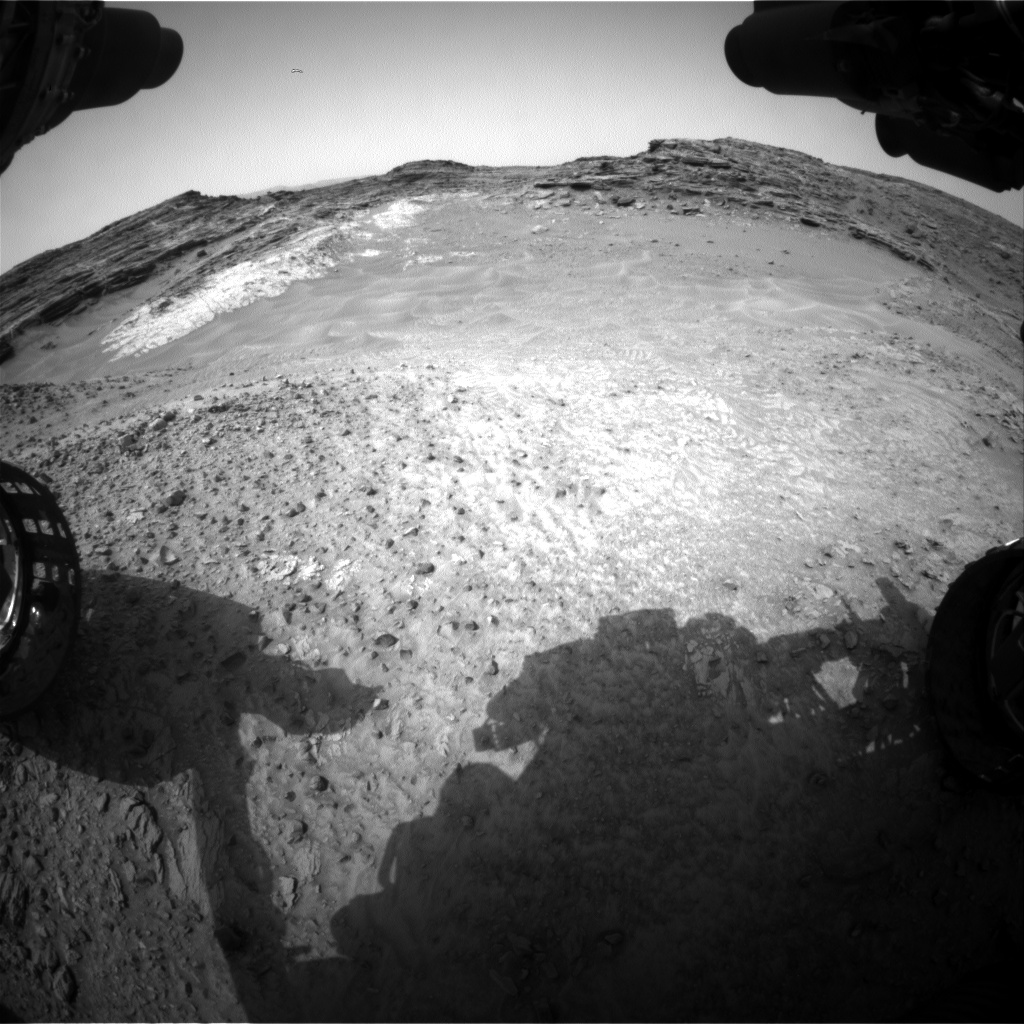 Nasa's Mars rover Curiosity acquired this image using its Front Hazard Avoidance Camera (Front Hazcam) on Sol 994, at drive 1194, site number 48