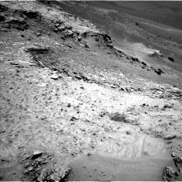Nasa's Mars rover Curiosity acquired this image using its Left Navigation Camera on Sol 995, at drive 1218, site number 48