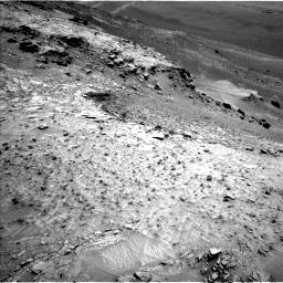 Nasa's Mars rover Curiosity acquired this image using its Left Navigation Camera on Sol 995, at drive 1224, site number 48