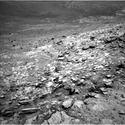 Nasa's Mars rover Curiosity acquired this image using its Left Navigation Camera on Sol 995, at drive 1296, site number 48