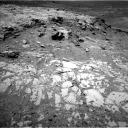 Nasa's Mars rover Curiosity acquired this image using its Left Navigation Camera on Sol 995, at drive 1338, site number 48