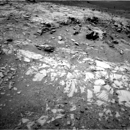 Nasa's Mars rover Curiosity acquired this image using its Left Navigation Camera on Sol 995, at drive 1344, site number 48