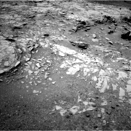 Nasa's Mars rover Curiosity acquired this image using its Left Navigation Camera on Sol 995, at drive 1350, site number 48