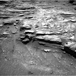 Nasa's Mars rover Curiosity acquired this image using its Left Navigation Camera on Sol 995, at drive 1410, site number 48