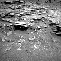 Nasa's Mars rover Curiosity acquired this image using its Left Navigation Camera on Sol 995, at drive 1422, site number 48
