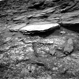 Nasa's Mars rover Curiosity acquired this image using its Left Navigation Camera on Sol 995, at drive 1512, site number 48