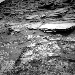 Nasa's Mars rover Curiosity acquired this image using its Left Navigation Camera on Sol 995, at drive 1518, site number 48