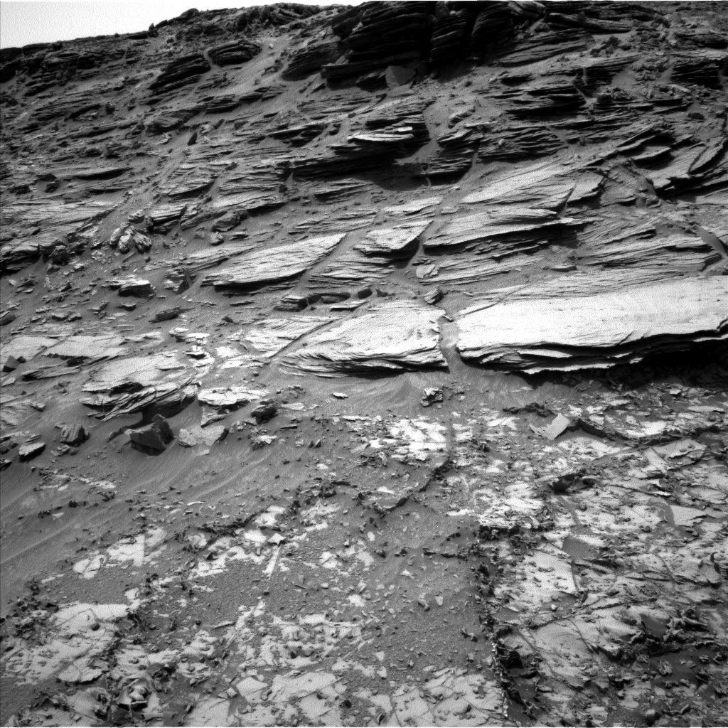 Nasa's Mars rover Curiosity acquired this image using its Left Navigation Camera on Sol 995, at drive 1530, site number 48
