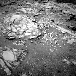 NASA's Mars rover Curiosity acquired this image using its Right Navigation Cameras (Navcams) on Sol 995