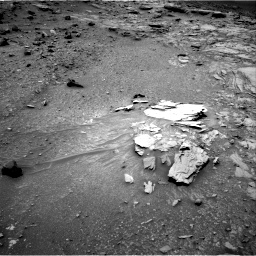 Nasa's Mars rover Curiosity acquired this image using its Right Navigation Camera on Sol 995, at drive 1386, site number 48