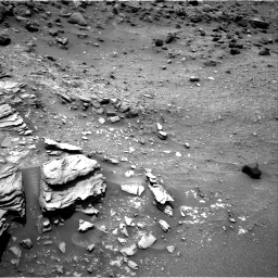 Nasa's Mars rover Curiosity acquired this image using its Right Navigation Camera on Sol 995, at drive 1398, site number 48