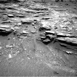 Nasa's Mars rover Curiosity acquired this image using its Right Navigation Camera on Sol 995, at drive 1416, site number 48