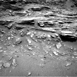 Nasa's Mars rover Curiosity acquired this image using its Right Navigation Camera on Sol 995, at drive 1434, site number 48