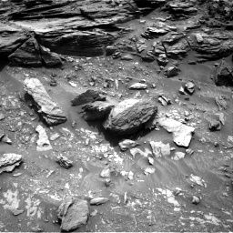 Nasa's Mars rover Curiosity acquired this image using its Right Navigation Camera on Sol 995, at drive 1470, site number 48