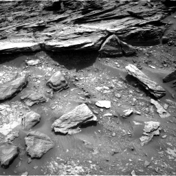 Nasa's Mars rover Curiosity acquired this image using its Right Navigation Camera on Sol 995, at drive 1488, site number 48