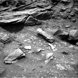 Nasa's Mars rover Curiosity acquired this image using its Right Navigation Camera on Sol 995, at drive 1494, site number 48