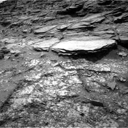 Nasa's Mars rover Curiosity acquired this image using its Right Navigation Camera on Sol 995, at drive 1518, site number 48