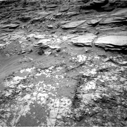 Nasa's Mars rover Curiosity acquired this image using its Right Navigation Camera on Sol 995, at drive 1524, site number 48