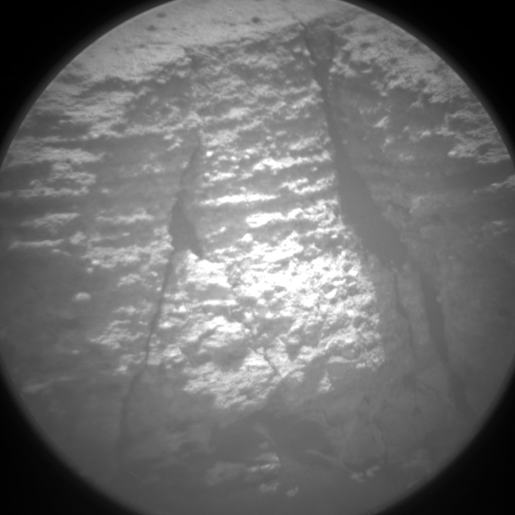 Nasa's Mars rover Curiosity acquired this image using its Chemistry & Camera (ChemCam) on Sol 997, at drive 1530, site number 48