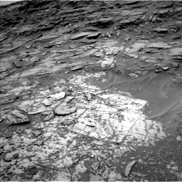 Nasa's Mars rover Curiosity acquired this image using its Left Navigation Camera on Sol 997, at drive 1542, site number 48
