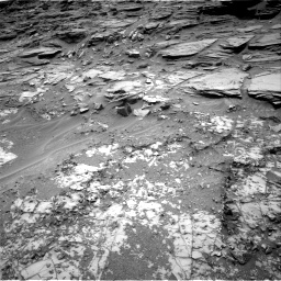 Nasa's Mars rover Curiosity acquired this image using its Right Navigation Camera on Sol 997, at drive 1530, site number 48