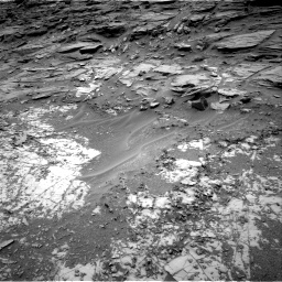 Nasa's Mars rover Curiosity acquired this image using its Right Navigation Camera on Sol 997, at drive 1536, site number 48