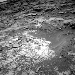 Nasa's Mars rover Curiosity acquired this image using its Right Navigation Camera on Sol 997, at drive 1542, site number 48