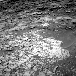 Nasa's Mars rover Curiosity acquired this image using its Right Navigation Camera on Sol 997, at drive 1548, site number 48
