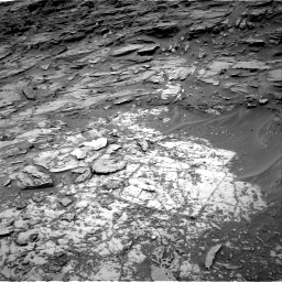 Nasa's Mars rover Curiosity acquired this image using its Right Navigation Camera on Sol 997, at drive 1554, site number 48