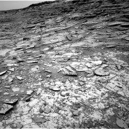 Nasa's Mars rover Curiosity acquired this image using its Right Navigation Camera on Sol 997, at drive 1560, site number 48
