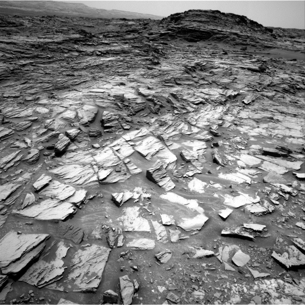 Nasa's Mars rover Curiosity acquired this image using its Right Navigation Camera on Sol 997, at drive 1570, site number 48