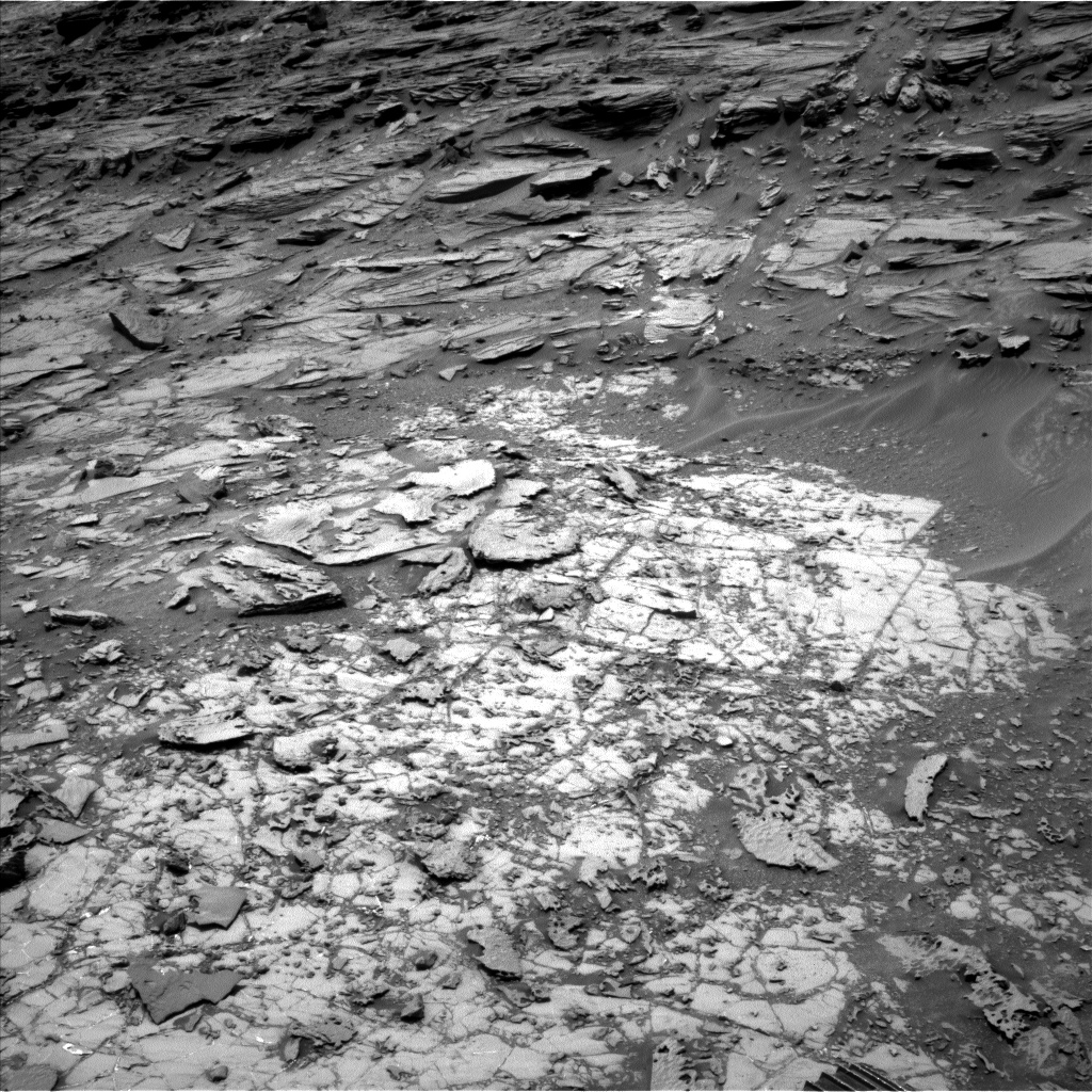 Nasa's Mars rover Curiosity acquired this image using its Left Navigation Camera on Sol 1000, at drive 1570, site number 48