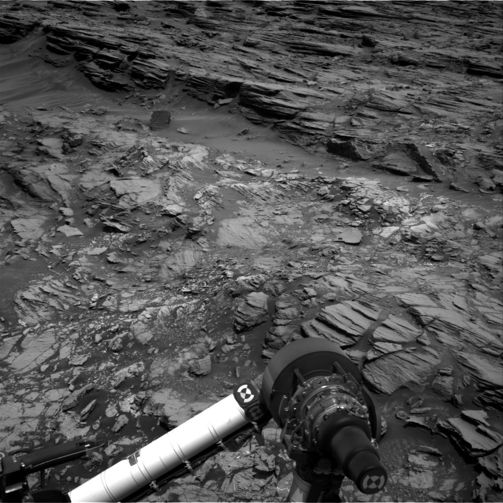 Nasa's Mars rover Curiosity acquired this image using its Right Navigation Camera on Sol 1000, at drive 1570, site number 48
