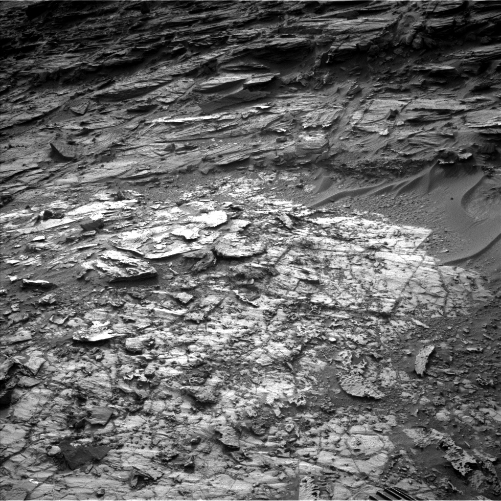 Nasa's Mars rover Curiosity acquired this image using its Left Navigation Camera on Sol 1001, at drive 1570, site number 48