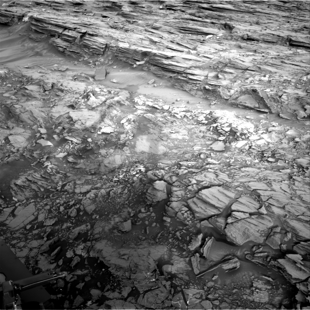 Nasa's Mars rover Curiosity acquired this image using its Right Navigation Camera on Sol 1001, at drive 1570, site number 48
