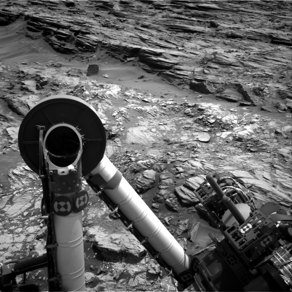 Nasa's Mars rover Curiosity acquired this image using its Right Navigation Camera on Sol 1003, at drive 1570, site number 48