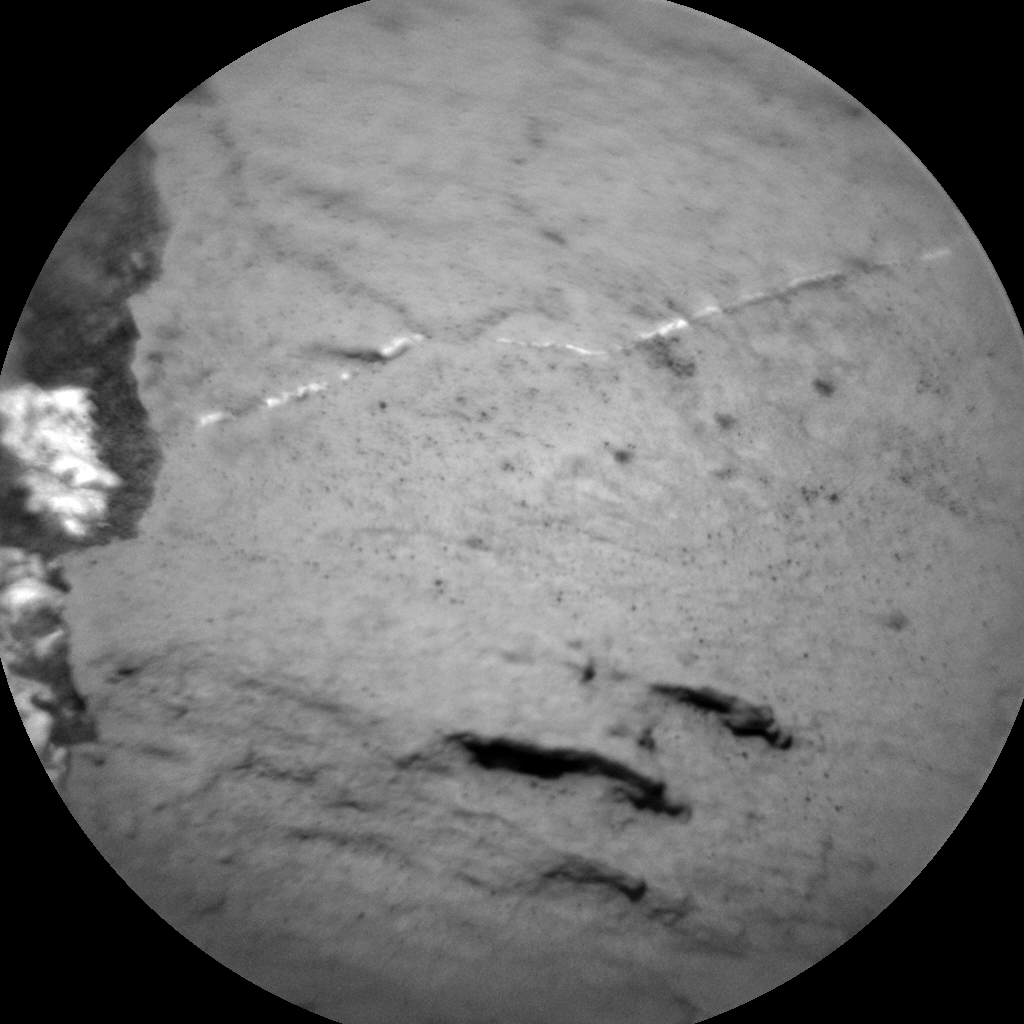 Nasa's Mars rover Curiosity acquired this image using its Chemistry & Camera (ChemCam) on Sol 1027, at drive 1570, site number 48