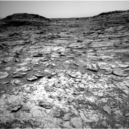 Nasa's Mars rover Curiosity acquired this image using its Left Navigation Camera on Sol 1030, at drive 1594, site number 48