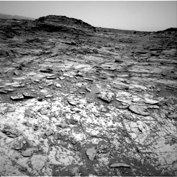 Nasa's Mars rover Curiosity acquired this image using its Right Navigation Camera on Sol 1030, at drive 1588, site number 48