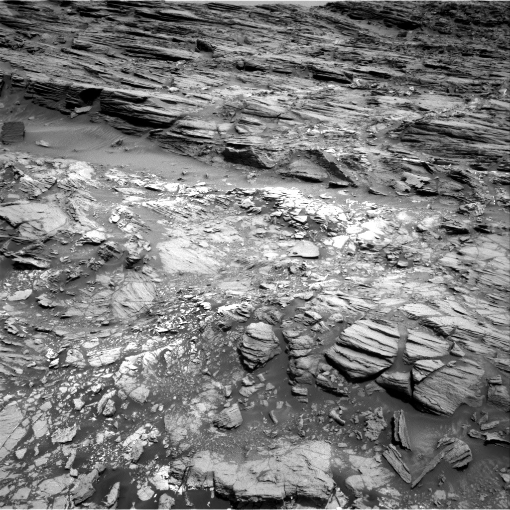 Nasa's Mars rover Curiosity acquired this image using its Right Navigation Camera on Sol 1030, at drive 1600, site number 48